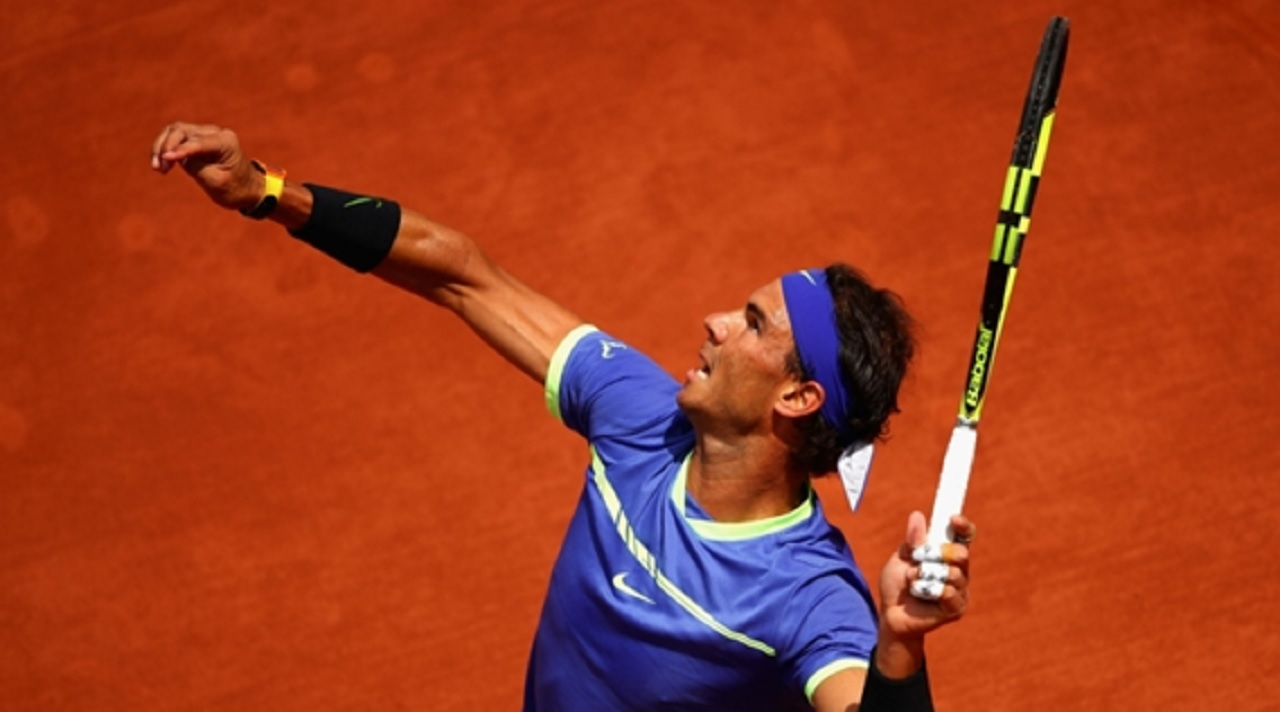 Spain's Rafael Nadal.