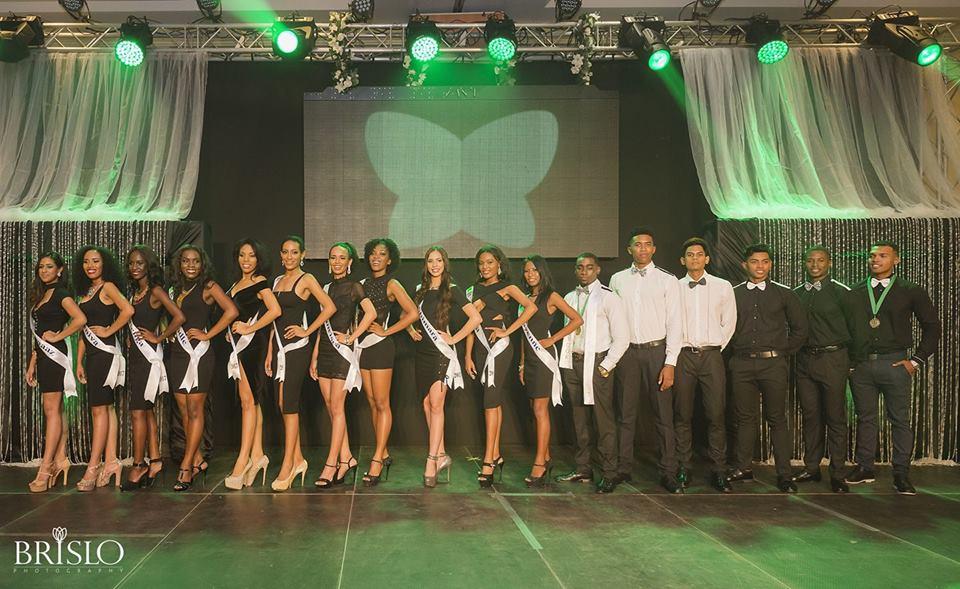 De nieuwe finalisten voor de Miss & Mister Tropical Beauties Suriname 2017 zijn afgelopen zondag bekendgemaakt bekendgemaakt in de Royal Ballroom van het Royal Torarica Hotel. (Foto: TBS)