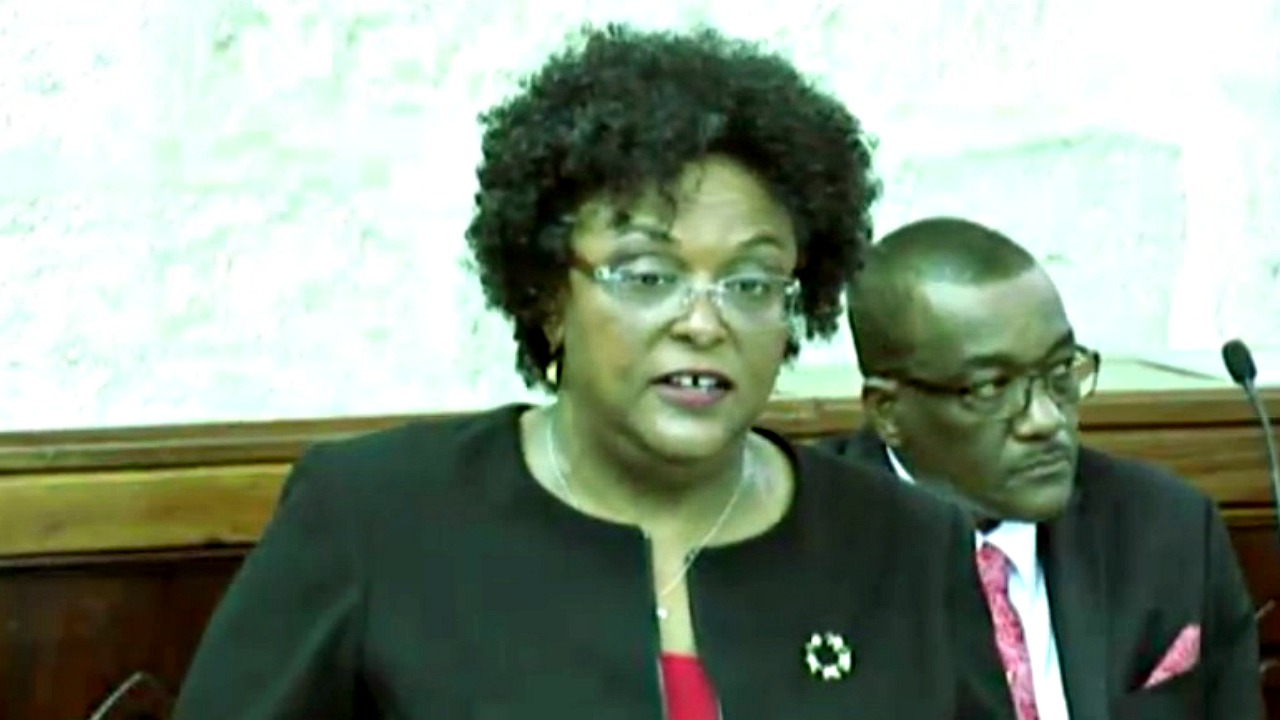 Opposition Leader, Mia Mottley.