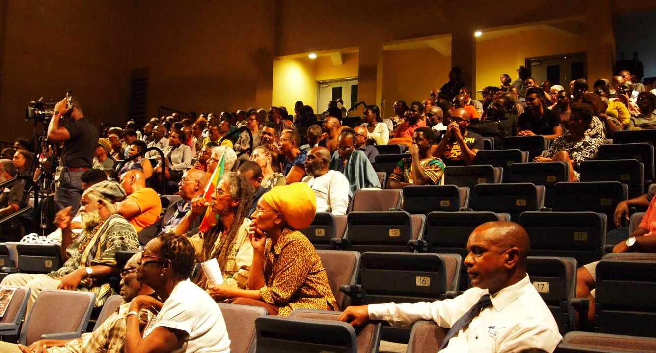 A section of the audience at the 7th Annual George Lamming Distinguished Lecture presented by Professor Sir Hilary Beckles.
