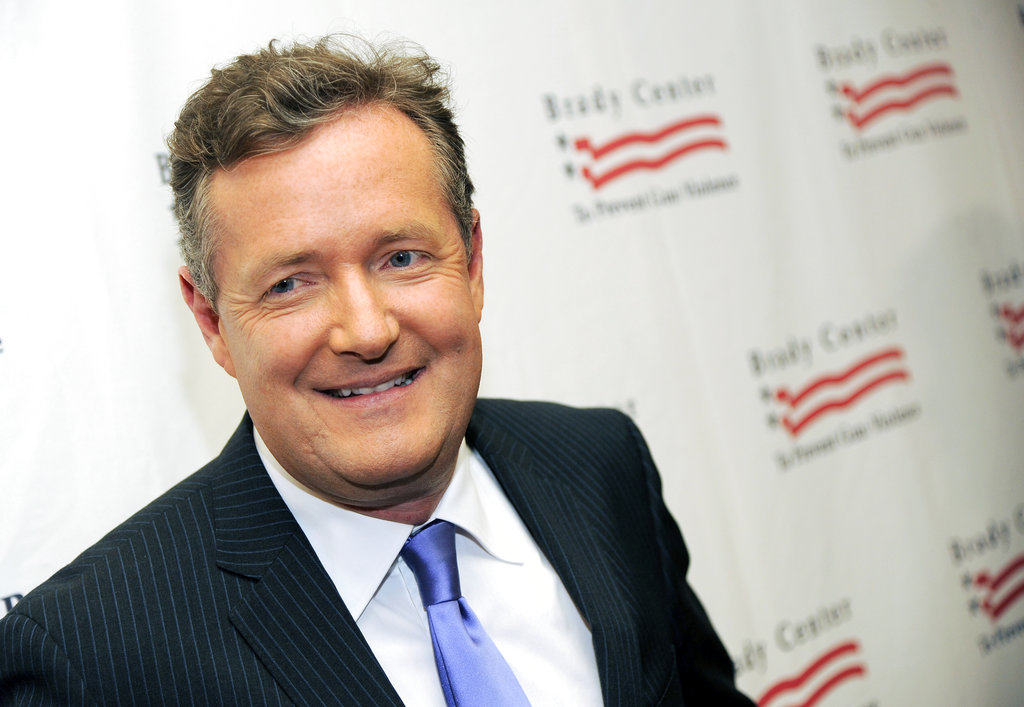 "This May 7, 2013, file photo, shows Piers Morgan at the Brady Campaign to Prevent Gun Violence Los Angeles Gala in Beverly Hills, Calif. "" Morgan apologized to singer Ariana Grande on June 4, 2017, after initially criticizing her following the May 22, 2017, attack following her concert in Manchester, England. (Photo by Chris Pizzello/Invision/AP, File)"
