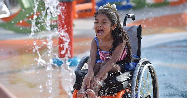 Kinderen met een beperking mogen allemaal gratis naar binnen. (Foto: Goodhousekeeping.com)