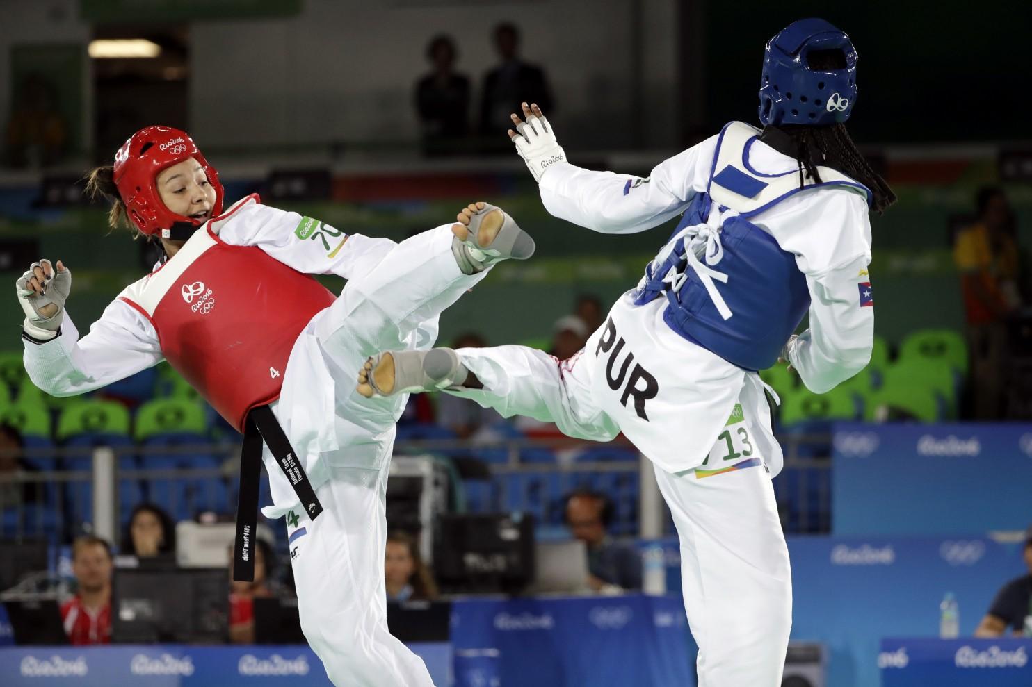 Illustration : Rio Olympics Taekwondo Women - WashPost