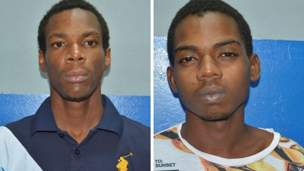 Andre Floyd, left and Keenan Boyce. Photo courtesy TTPS
