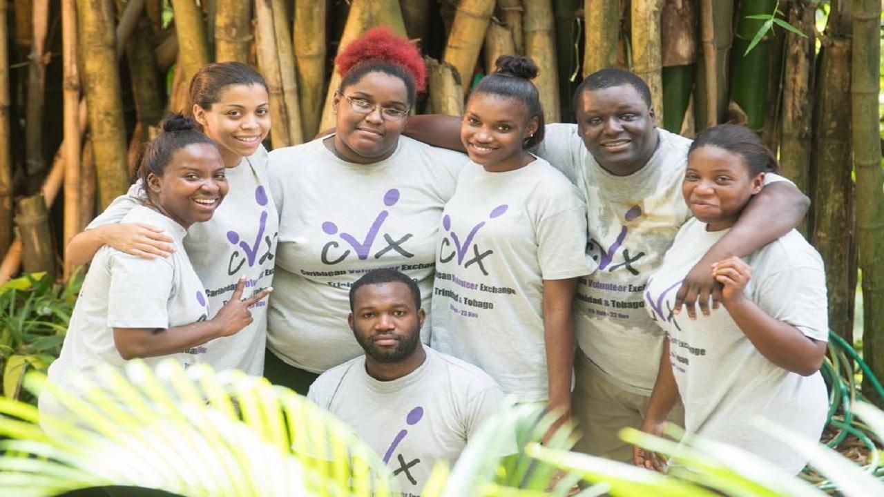 Volunteers at the inaugural CVX in Trinidad and Tobago.