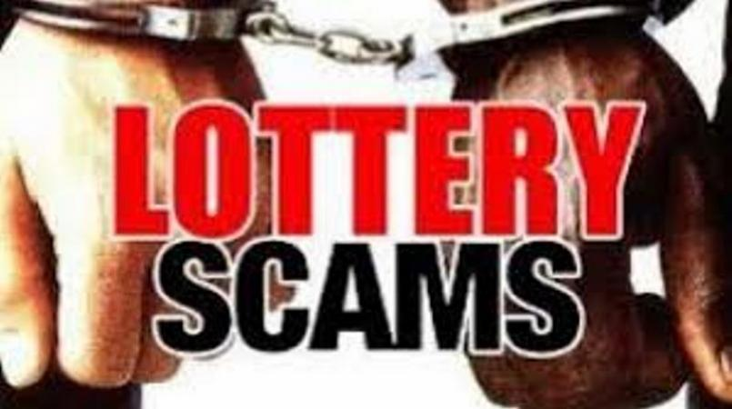 The scheme involved the targeted victims receiving telephone calls and being informed that they had won more than US$1 million in a lottery, and needed to pay money in advance to claim their winnings.