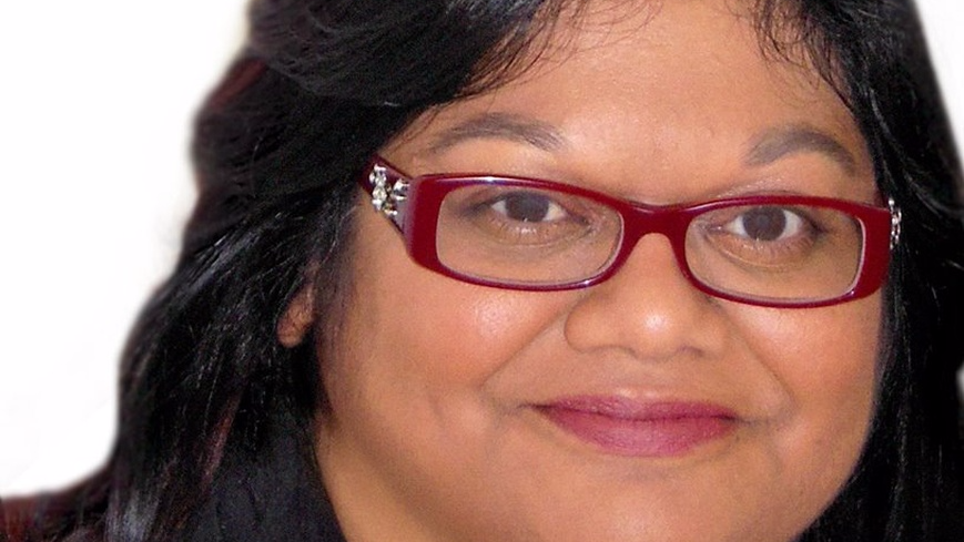 Ingrid Persaud, the 2017 winner of the Commonweath Writer's Short Story Prize.