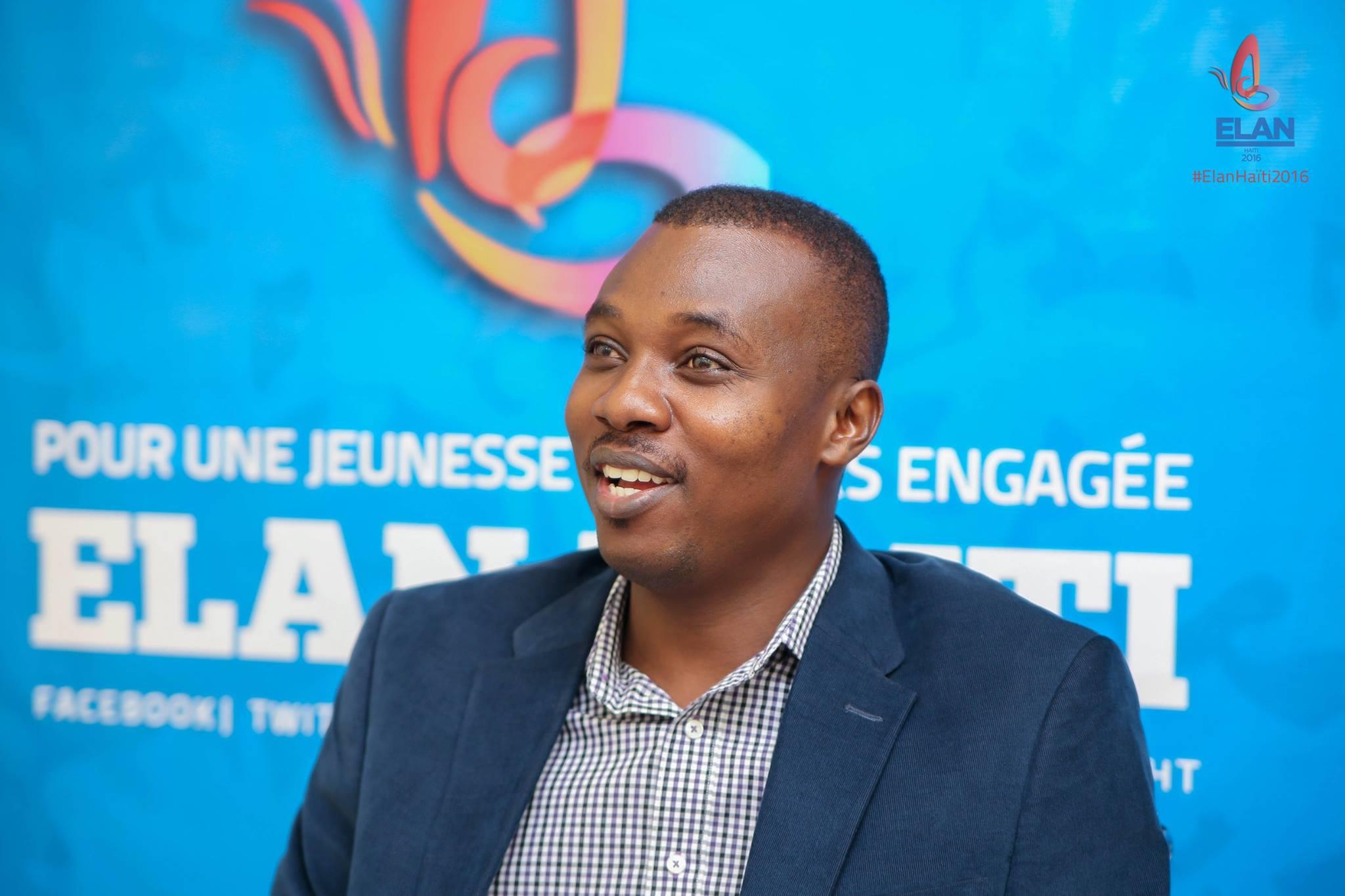 L'économiste haitien Rock André, invité au 9e Forum Economique de l'Amerique Latine et des Caraibes qui se tient le 9 juin à Paris.