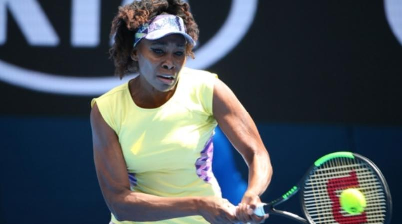 Tennis start and sister of Serena Williams, Venus Williams.