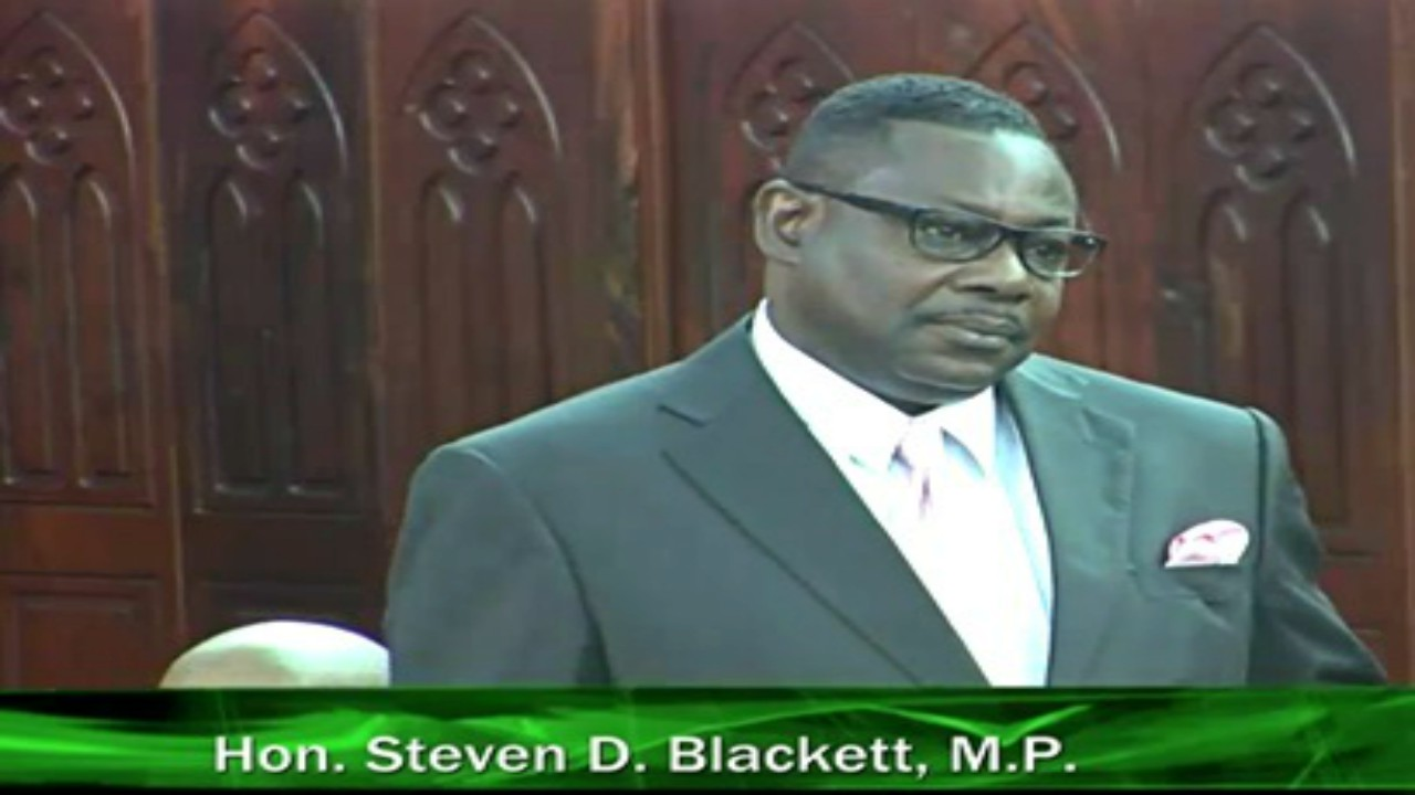 Minister of Social Care, Constituency Empowerment and Community Development, Steve Blackett.