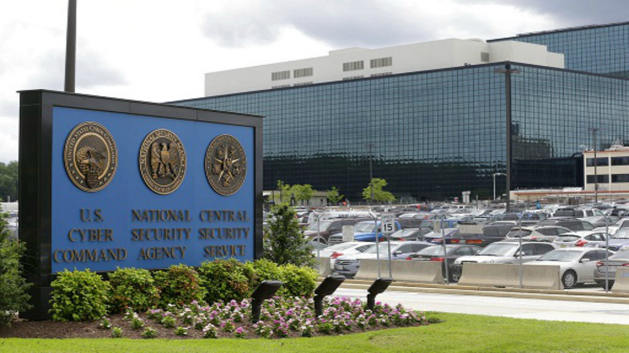 In this June 6, 2013 file photo, the National Security Agency (NSA) campus in Fort Meade, Md. Russian hackers attacked at least one U.S. voting software supplier days before the 2016 presidential election, according to a classified NSA report leaked Monday, June 5, 2017, that suggests election-related hacking penetrated further into U.S. voting systems than previously known.  (AP Photo/Patrick Semansky, File)
