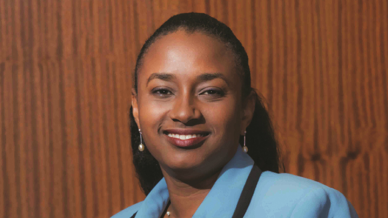 New acting Deputy Governor of the Central Bank of Barbados, Michelle Doyle-Lowe.
