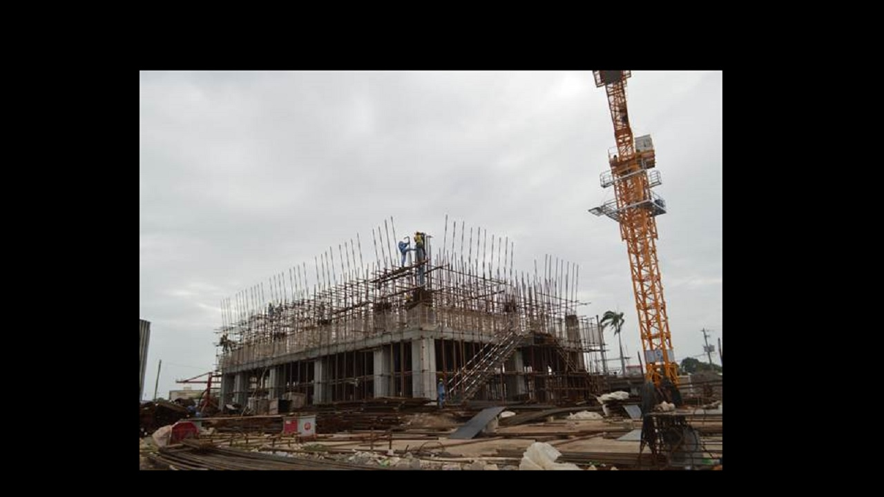 Ministry of foreign affairs building to be completed 2018 for Cost of building blocks in jamaica 2017
