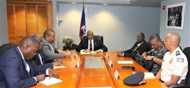 Le Conseil Supérieur de la Police Nationale CSPN (Photo: Le Nouvelliste)