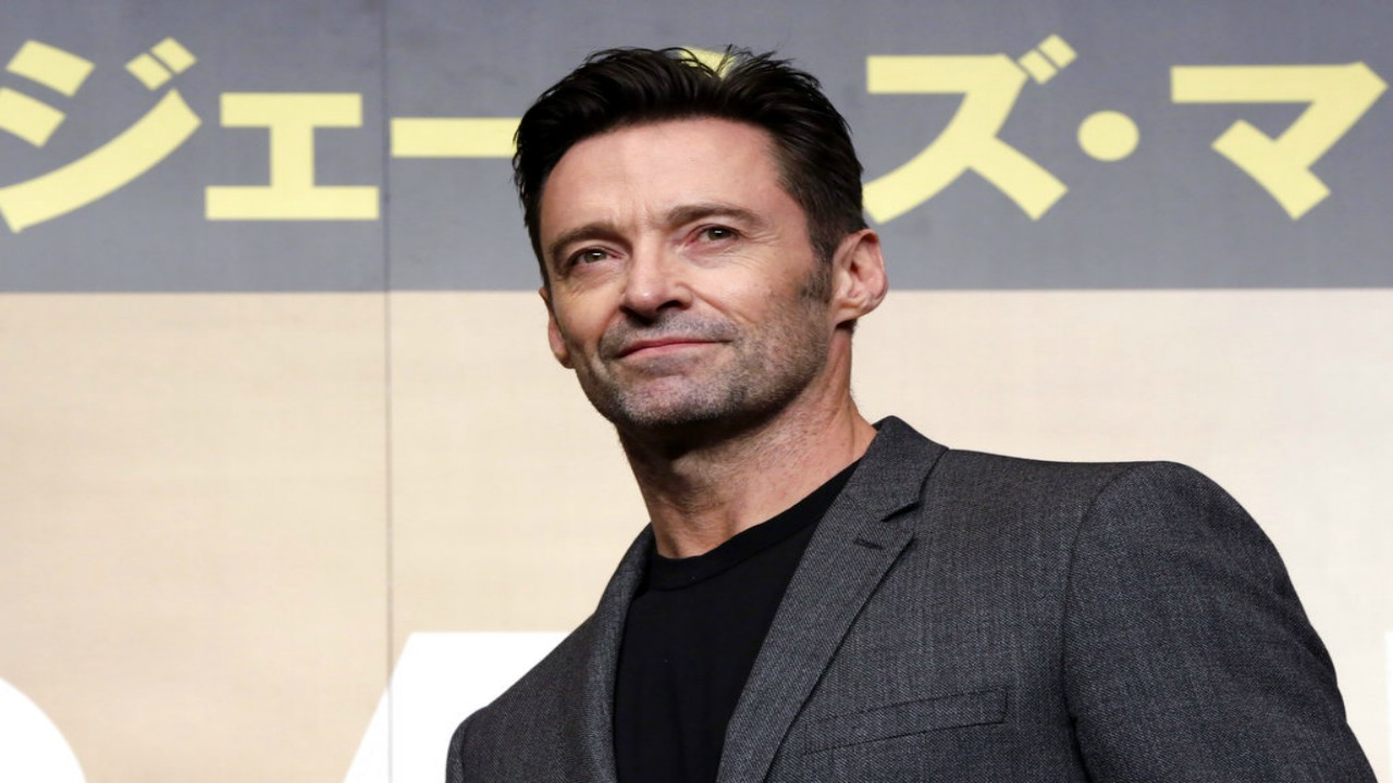 "In this May 25, 2017 file photo, actor Hugh Jackman poses for photographers during a press conference of his film ""Logan"" in Tokyo. (AP Photo/Eugene Hoshiko, File)"