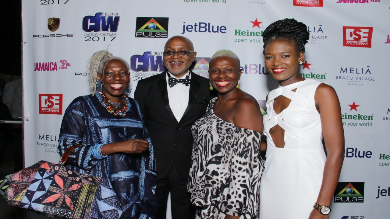 Pulse Chairman Kingsley Cooper used the occasion to showcase some of the hottest Caribbean models making an appearance at this year's CFW.