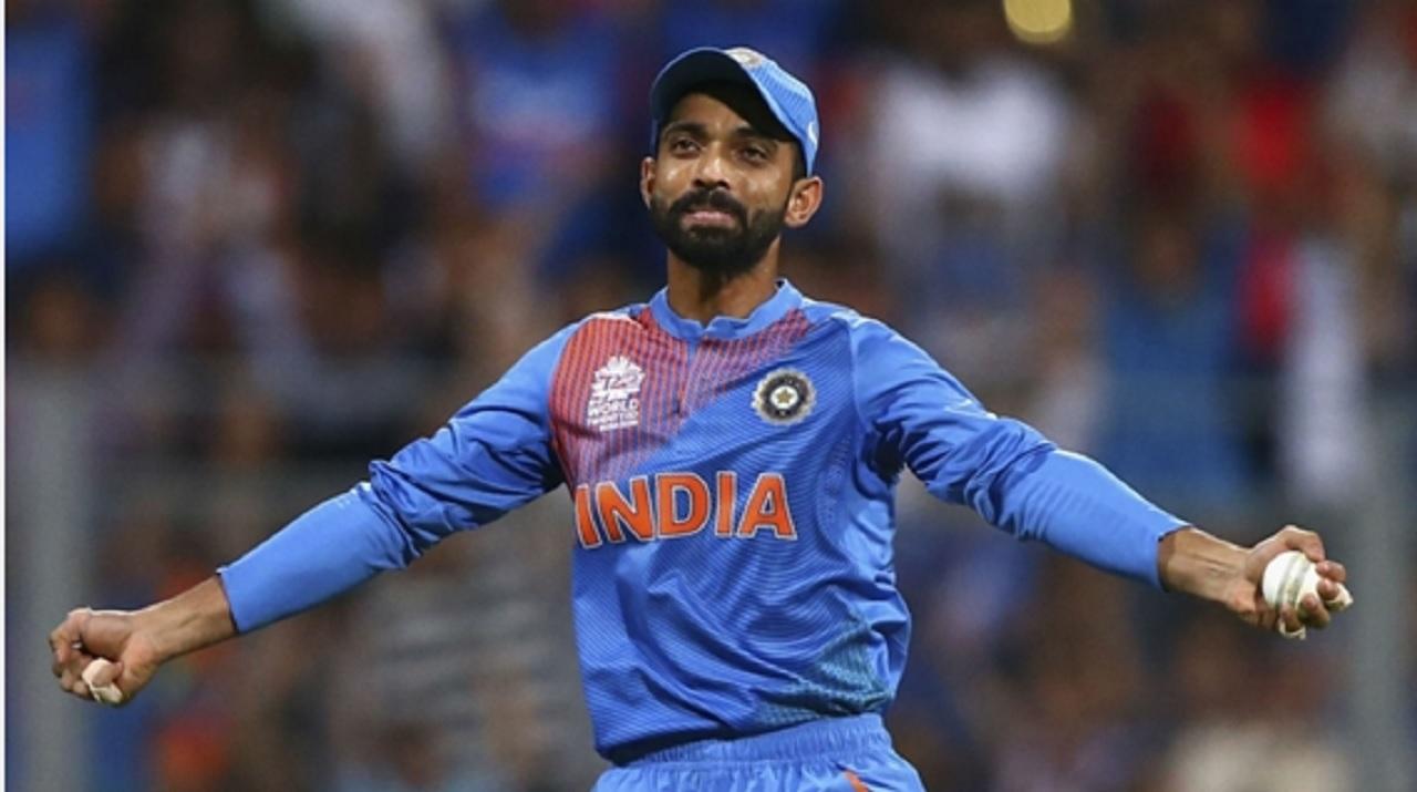 India batsman Ajinkya Rahane.