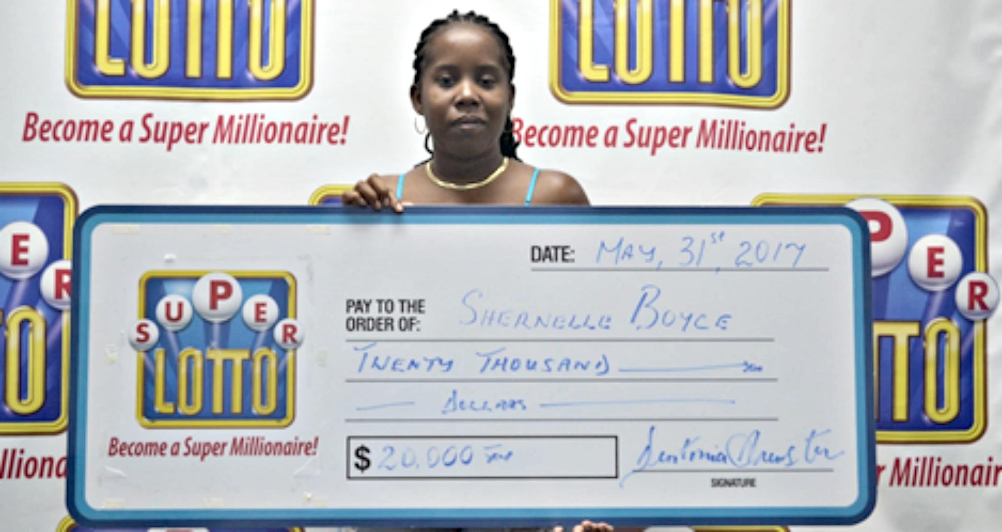 She won $20 000.
