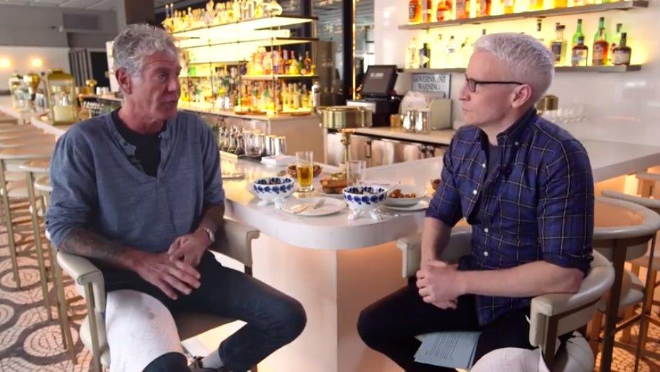 Anthony Bourdain chats with CNN news anchor Anderson Cooper about his experience in Trinidad while filming the T&T edition of 'Parts Unknown'