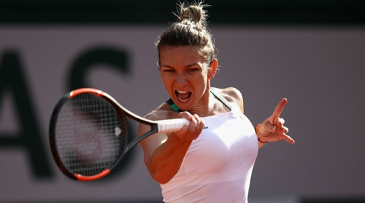 French Open favourite Simona Halep.