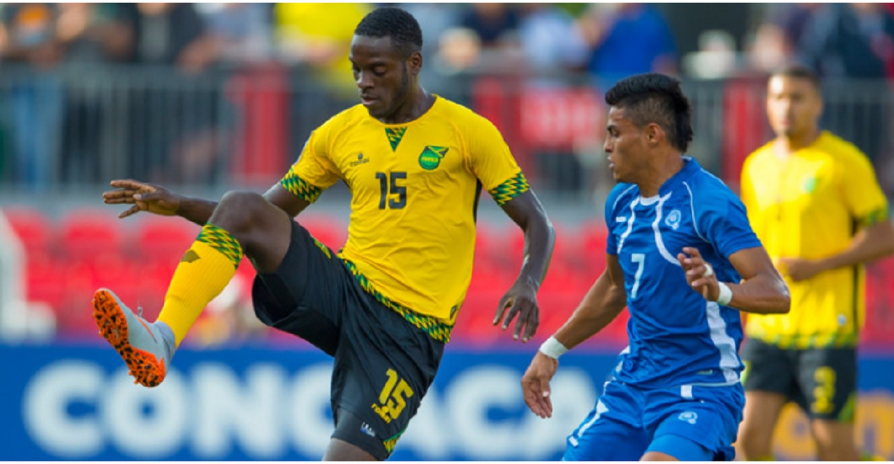 A file photo the Reggae Boyz in action. (PHOTO: CONCACAF)