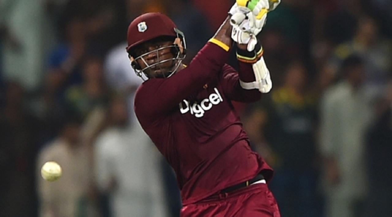 West Indies batsman Marlon Samuels.