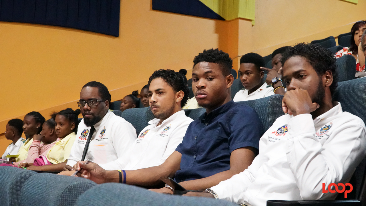 Participants in the Global Shapers Bridgetown Hub Youth Forum on the Barbados economy. (PHOTO: Richard Grimes)