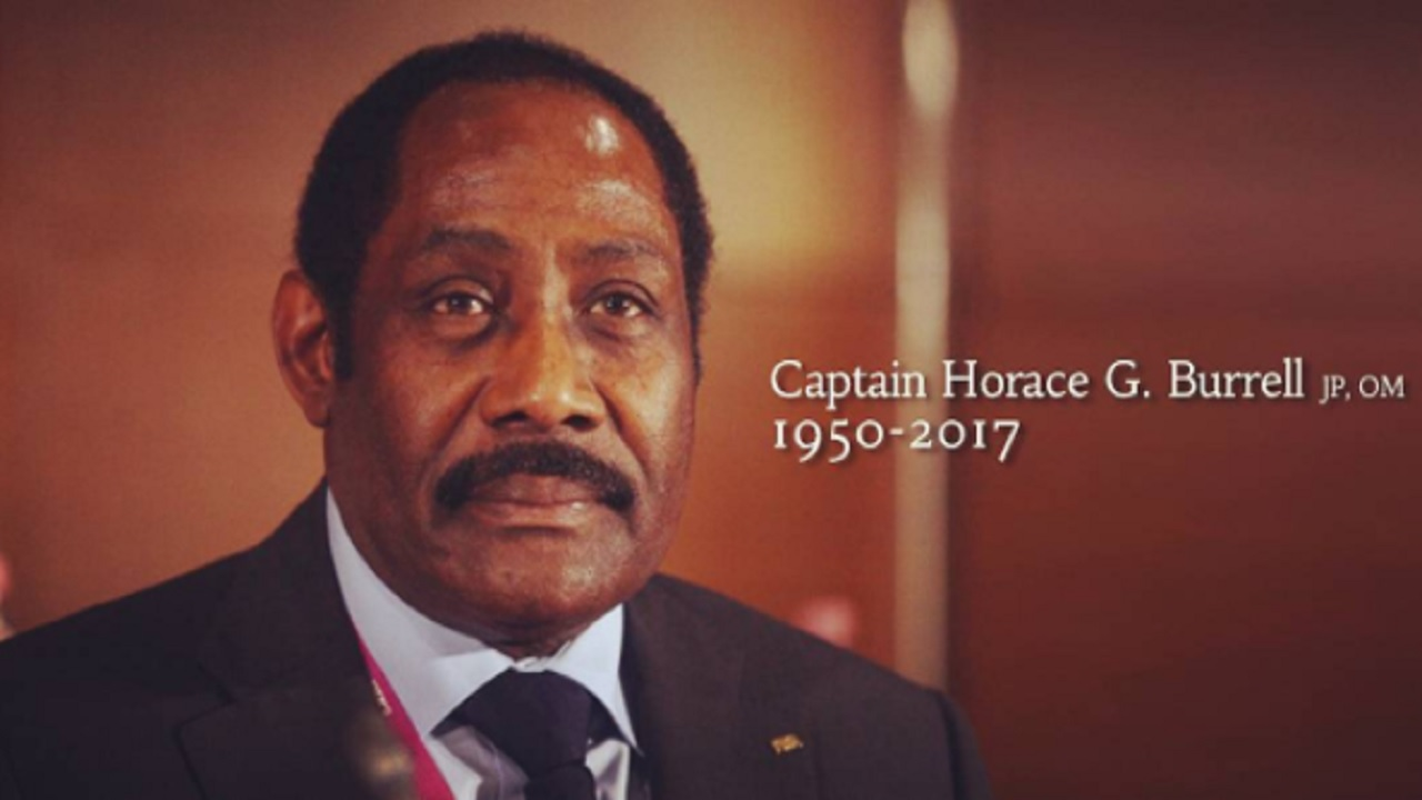 Captain Horace Burrell passed away on Tuesday at 67 years old. (PHOTO: JFF INSTAGRAM)
