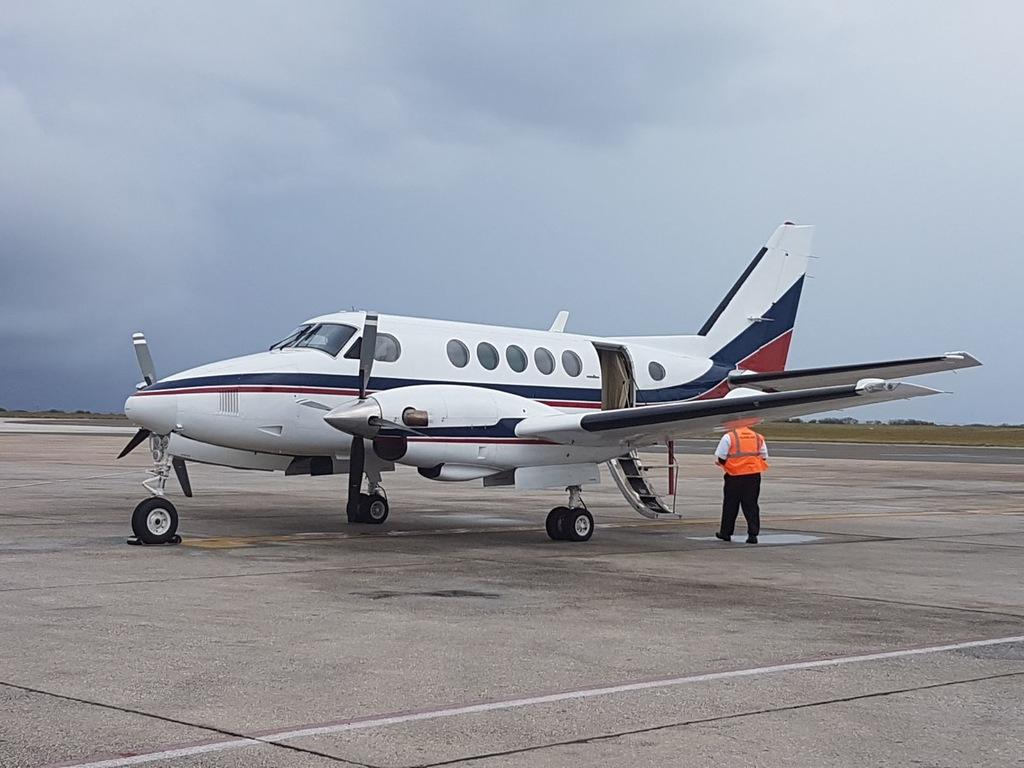 Trans Island Air 2000.