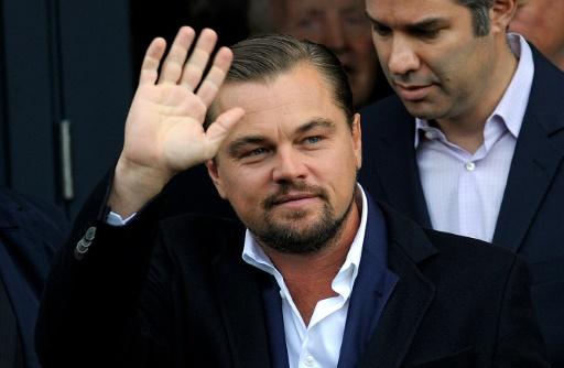 L'acteur américain Leonardo DiCaprio, le 17 novembre 2016 à Edimbourg