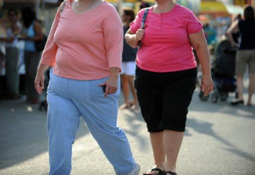 Le nombre d'obèses a plus que doublé dans 73 pays depuis 1980, selon une étude (Photo:AFP/Archives/TIM SLOAN)
