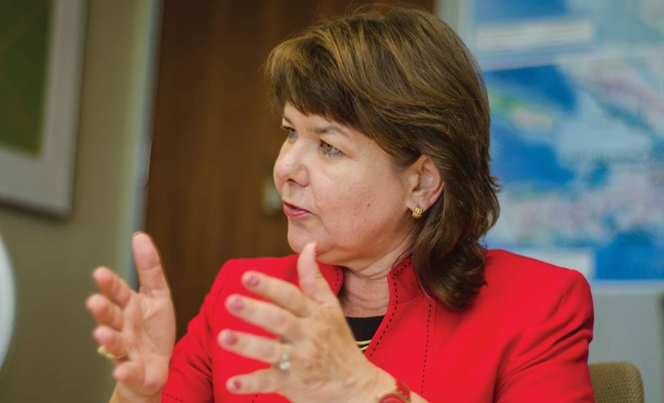 L'ambassadeure du Canada en Haiti, Paula Caldwell St-Onge./ Crédit photo: Facebook Ambassade du Canada en Haiti