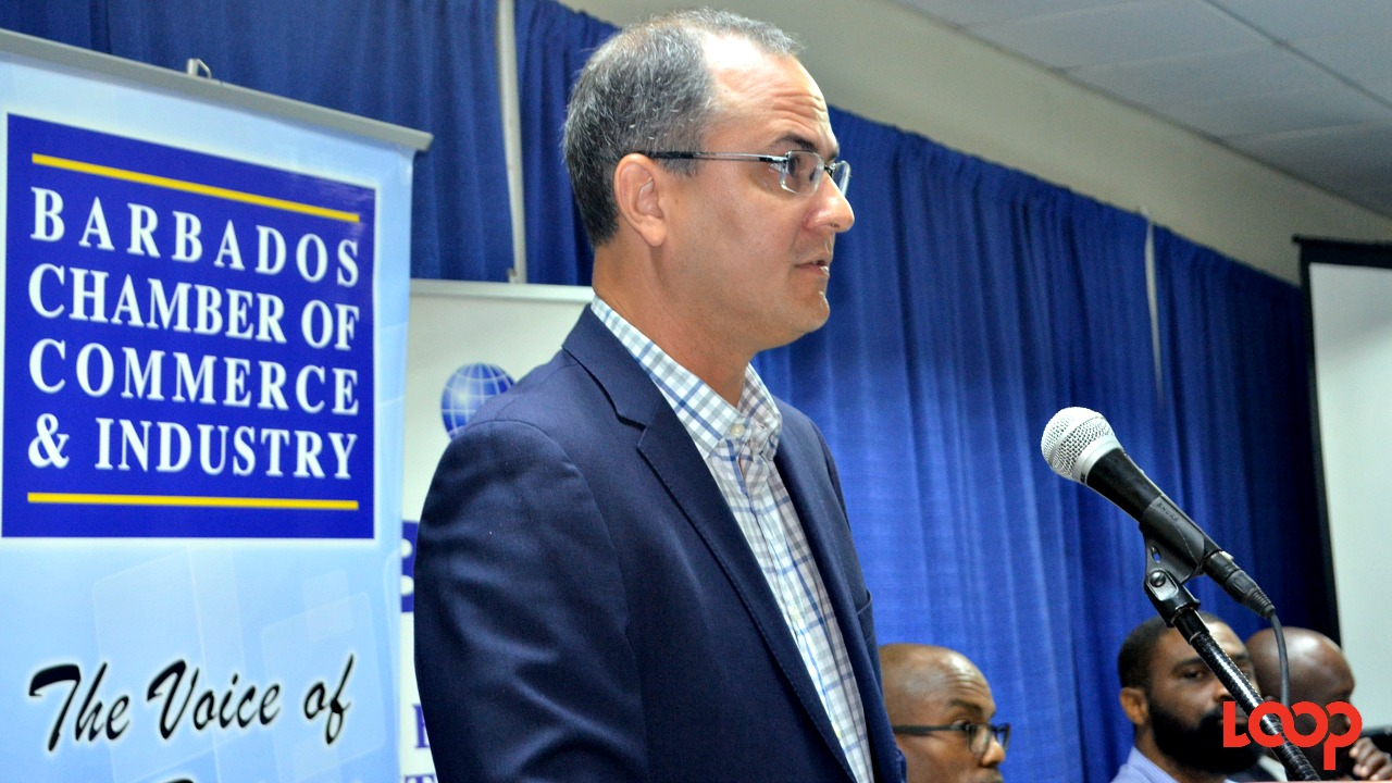 Gregory McConnie, President of The Barbados International Business Association (BIBA).