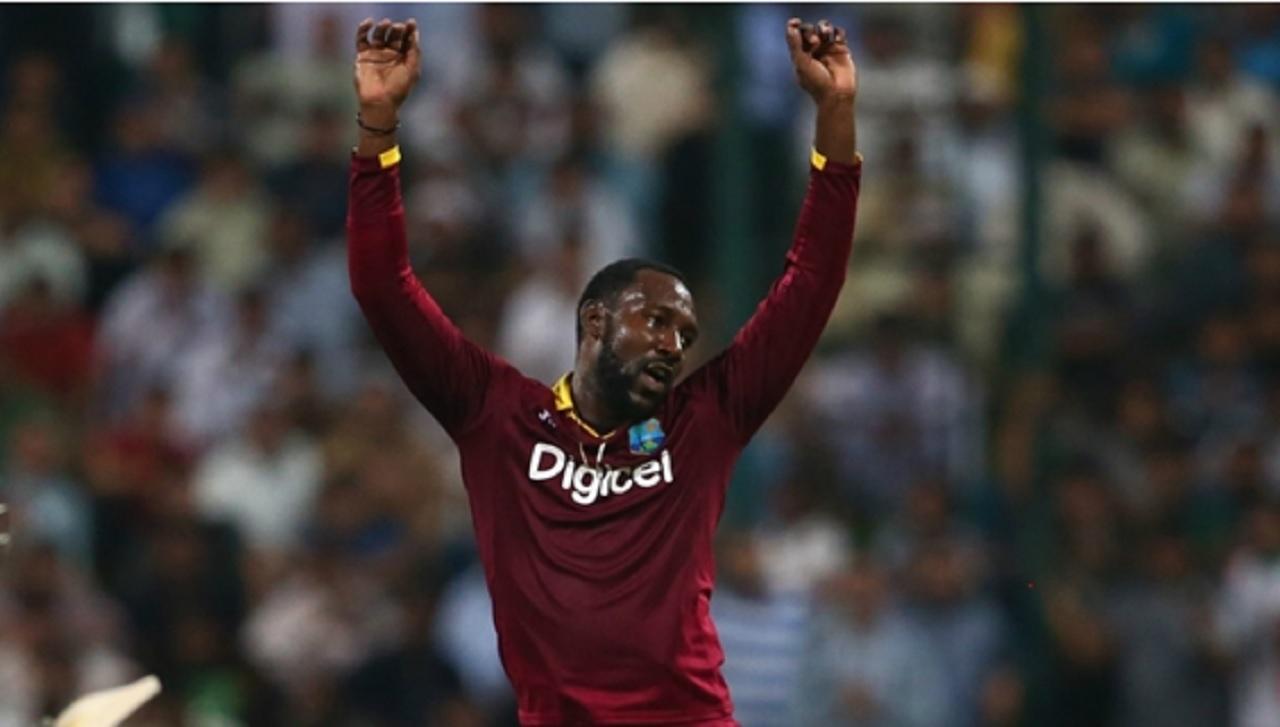 West Indies bowler Kesrick Williams.