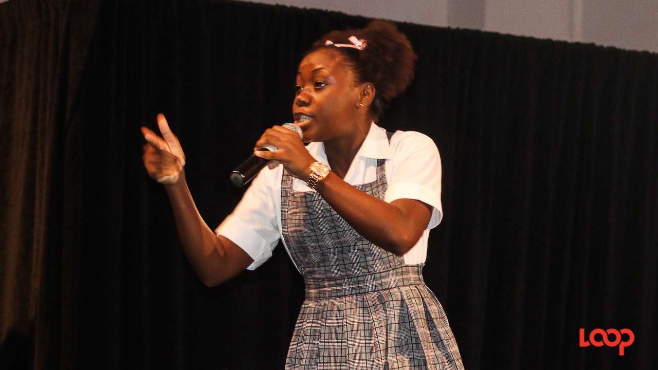 Adonica 'Lady Nica' Shepherd delivered a solid performance in the 13-18 category to easily gain a place in the Junior Calypso Monarch Finals.