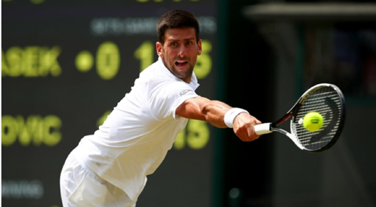 Novak Djokovic sizzles at Wimbledon
