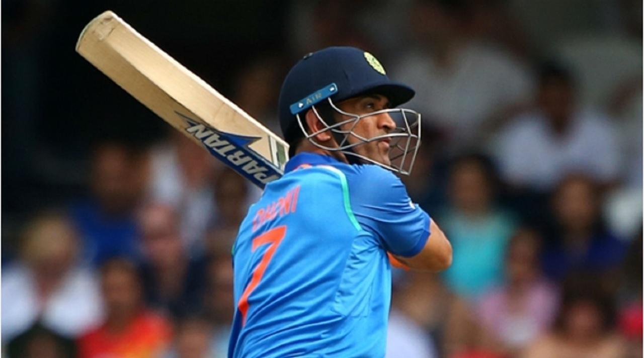 India wicketkeeper-batsman MS Dhoni.