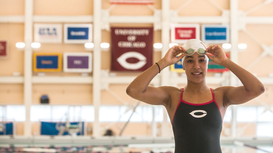 Naomie Grand'Pierre, nageuse professionnelle et de reconnaissance internationale, sera à Budapest pour participer à la 17e édition des Championnats du monde de Natation 2017.