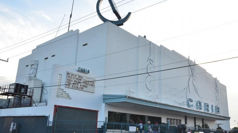 The Carib movie theatre in Cross Roads, Kingston.