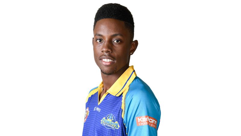 Shamar Springer of the Barbados Tridents.
