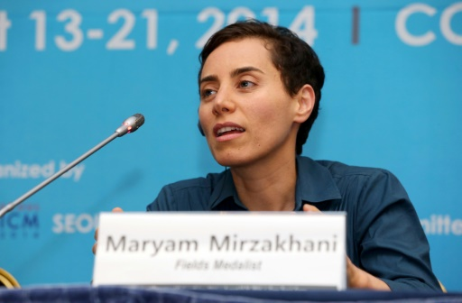 Décès de Maryam Mirzakhani, première femme à recevoir la médaille Fields
