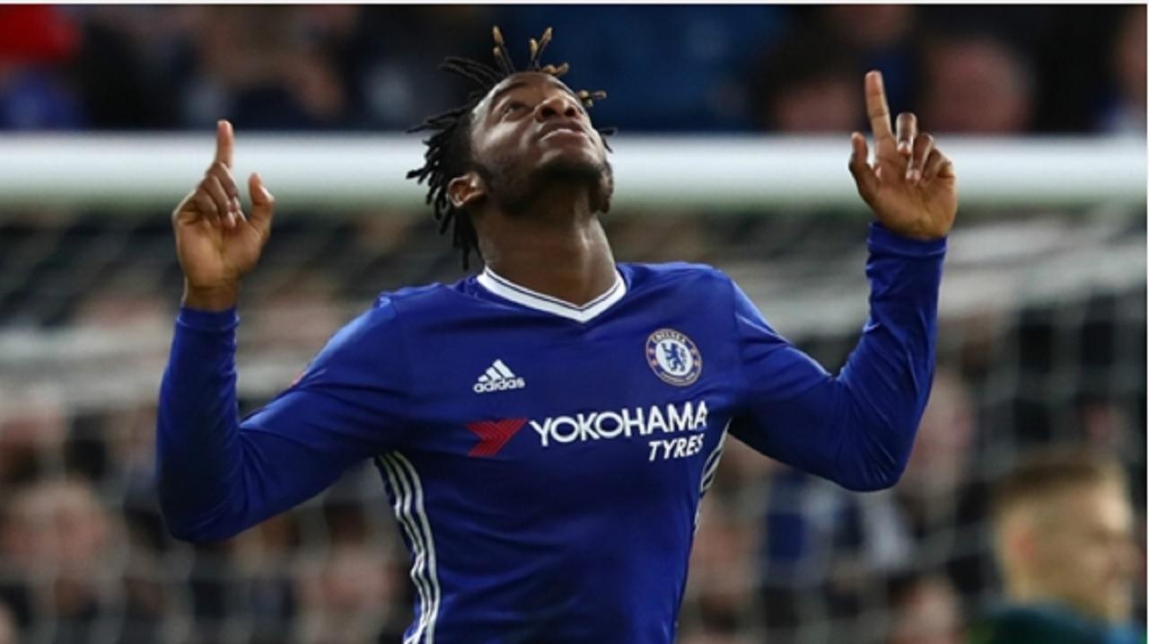 Chelsea striker Michy Batshuayi.