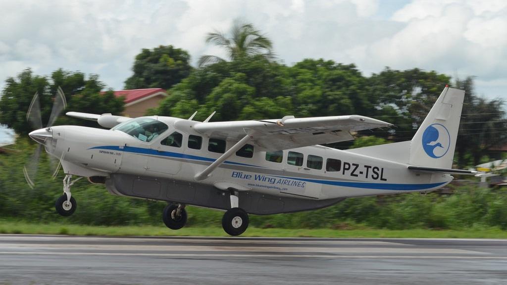 Een Cessna C208B van Blue Wings Airlines. Foto: Flickr-Guillaume Normand
