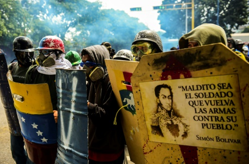 Death toll from Venezuela protests breaches 100 mark
