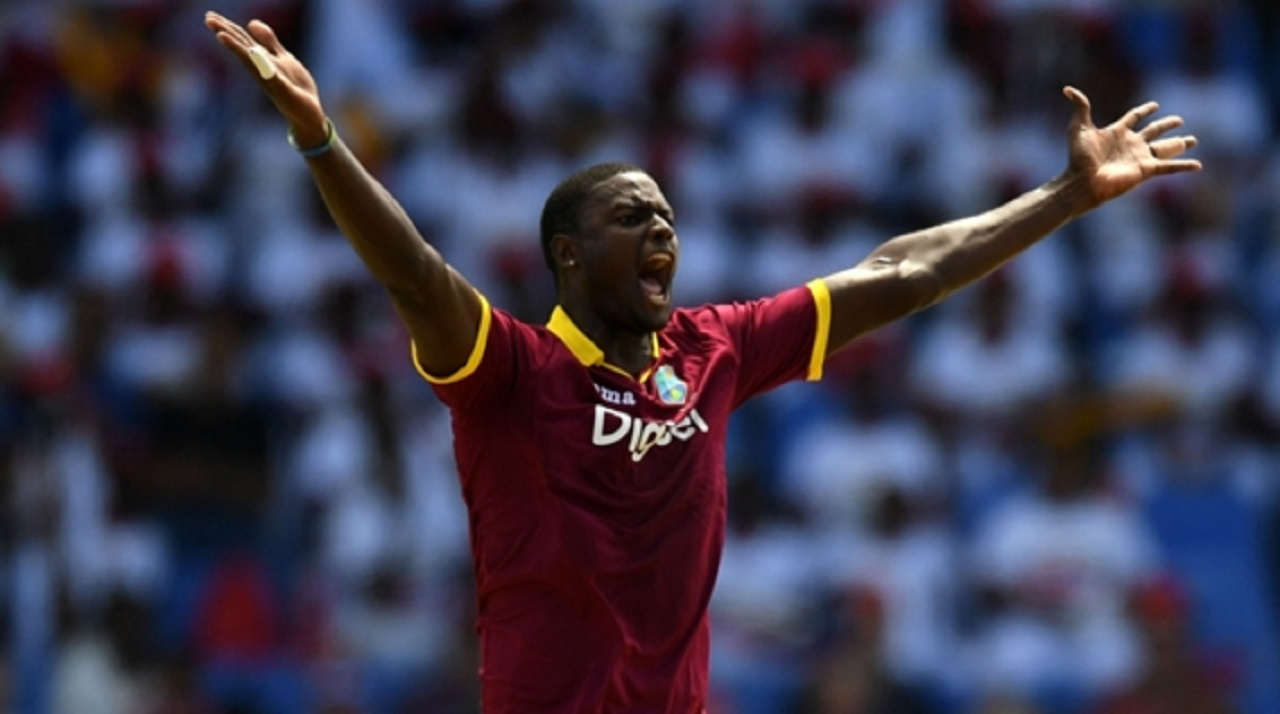 West Indies captain Jason Holder.