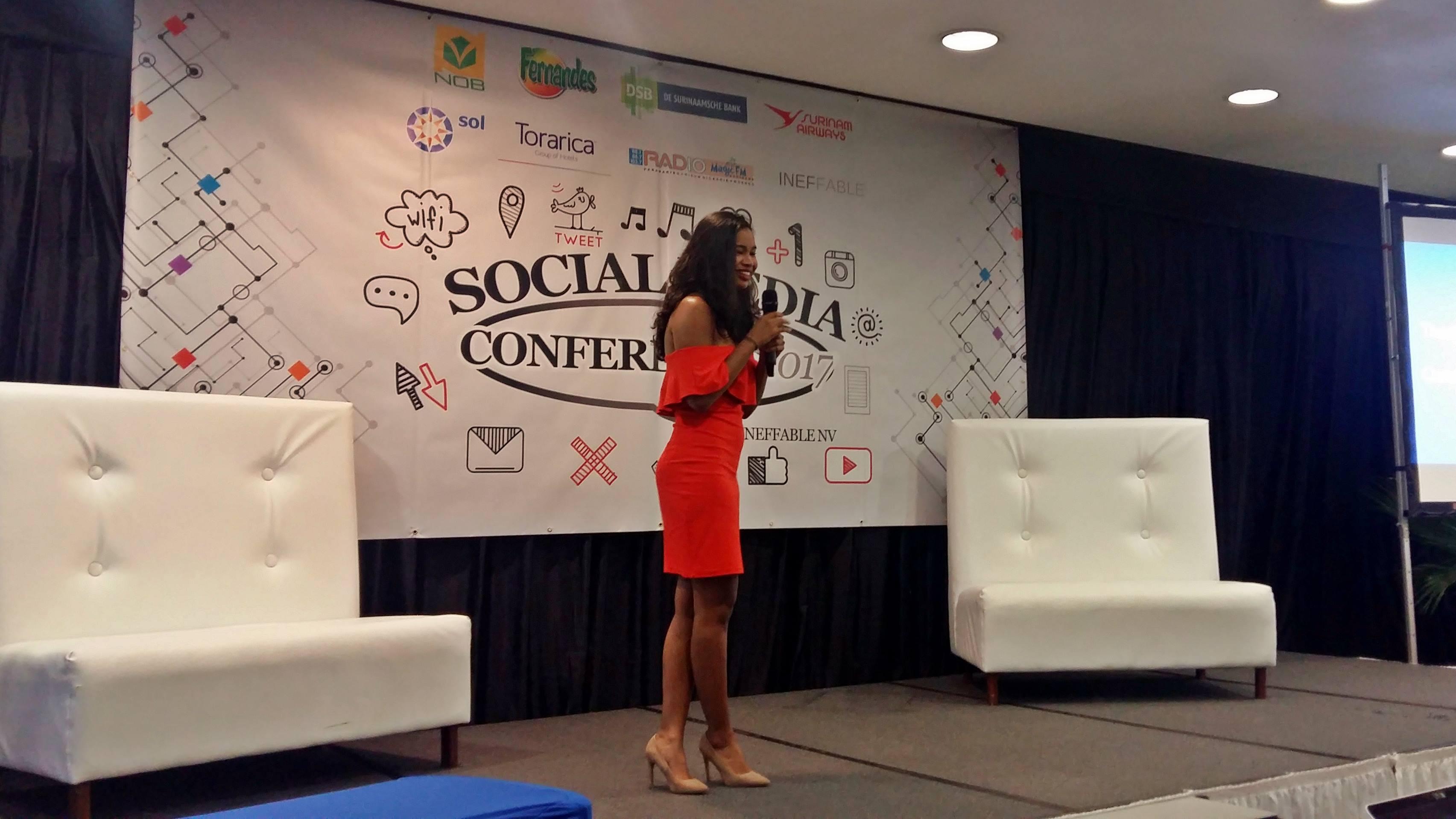 Natasha Fong Poen gaf aan wat de meerwaarde van influencers is bij de promotie van producten.
