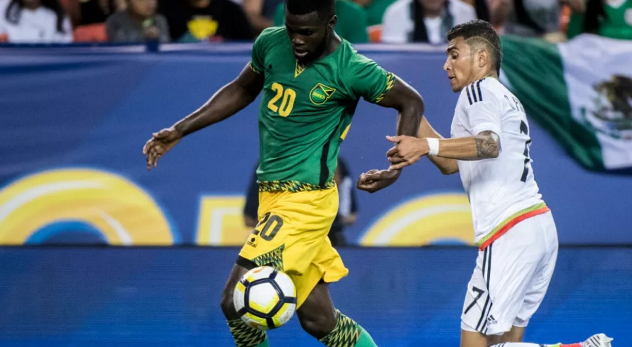 Jamaica's Kemar Lawrence (#20) has started in each of the 11 games he has played in the CONCACAF Gold Cup.  (PHOTO: CONCACAF.COM)
