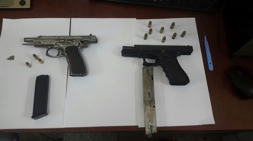 Four held during police operations, firearm and ammunition seized