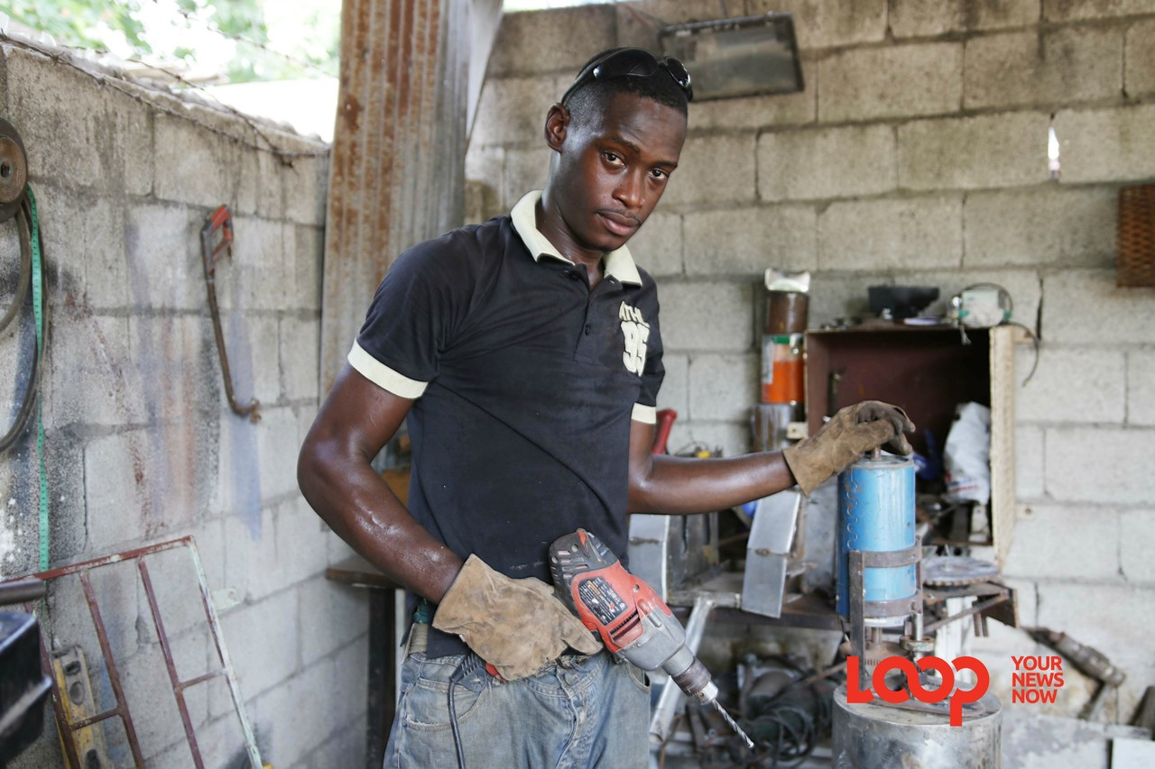 Ronno Matthews hopes to one day build a business as widely known as Tankweld.