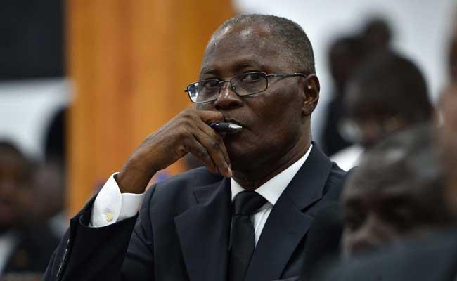L'ancien président provisoire Jocelerme Privert.